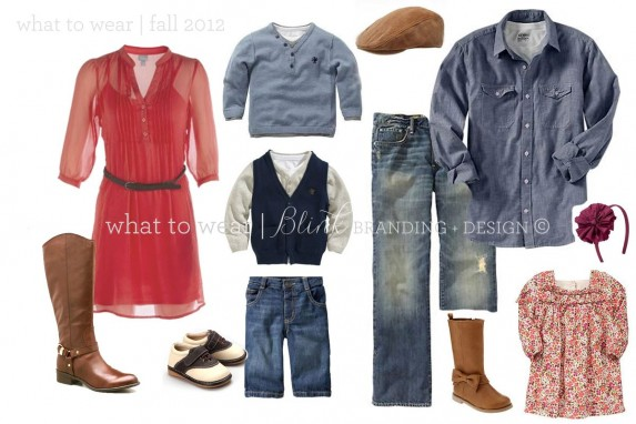 Wardrobe Example for Casual Portrait Session